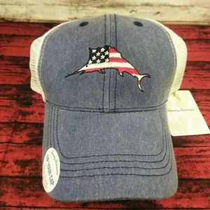 TOMMY BAHAMA Tip Your Cap NEW American Flag Baja M